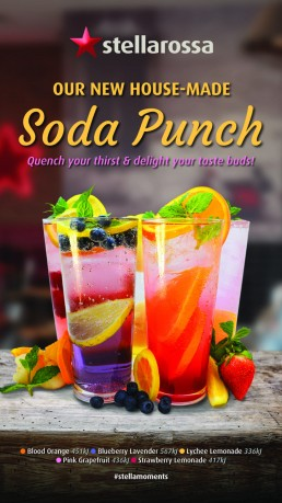 Stellarossa House Made Soda Punch
