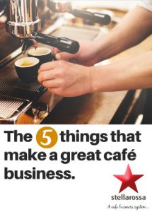 Five things that make a great cafe business e-book